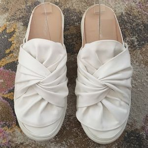 Topshop bow sneakers